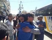بدء إجلاء مسلحين ومدنيين من بلدتى الفوعة وكفريا بسوريا