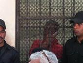 قاتل سائق الدرب الأحمر ينهار بعد سماع حكم المؤبد الصادر ضده