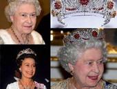 """اكسسوارات الملكة إليزابيث الثانية من الماس واللؤلؤ والقطعة الأساسية """"البروش"""""""