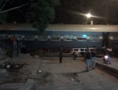 عودة حركة قطارات الصعيد بعد توقفها إثر حادث قطار قنا
