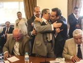 """بالصور.. لأول مرة.. فوز إيهاب الطماوى بأمانة سر اللجنة التشريعية بـ""""القرعة"""""""