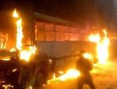 مصرع 5 وإصابة 15 شخصا بسبب حريق حافلة فى تركيا