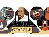 جوجل يحيى الذكرى الـ 400 لرحيل وليام شكسبير