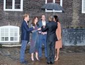 الأمير ويليام وكيت يستضيفان أوباما وميشيل على العشاء بقصر كينجستون