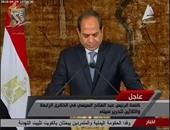 بالفيديو.. السيسى: أعدنا بناء المؤسسات فى 30 شهرا وأطالب المصريين بالحفاظ عليها