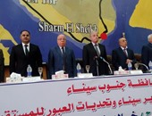"""""""تحرير سيناء وتحديات العبور للمستقبل"""".. مؤتمر جماهيرى بالمحافظة"""