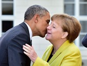 17 نوفمبر.. اللقاء الأخير بين ميركل وأوباما فى ألمانيا