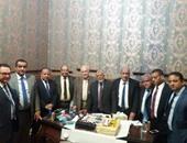 بدء اجتماع مجلس نقابة محامى جنوب القاهرة لتشكيل هيئة المكتب