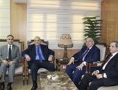 وزير العدل يلتقى وكيل مجلس النواب لبحث سبل التعاون