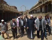 بالصور.. وزير الأوقاف يتابع الانتهاء من مشروع إسكان الشباب بمدينة بدر