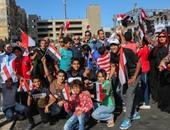 بدء احتفالات ذكرى 30 يونيو بميدان سيدى جابر بالإسكندرية