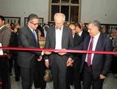 """وزير الآثار يفتتح معرض """"سيناء"""" بالمتحف المصرى"""