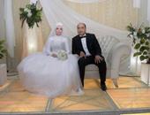 بالصور.. حفل زفاف محمد حسن نادى على أسماء حسن بالفيوم