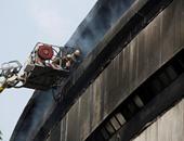 مصرع شخص وإصابة 5 آخرين جراء حريق ضخم فى مبنى بالهند