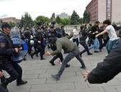 الشرطة التركية تطلق قنابل الغاز لتفريق نشطاء خلال إحياء ذكرى هجمات دموية