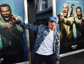 """بالصور.. فان دام يحتفل مع أبطال فيلم """"Keanu"""" بالعرض الخاص فى كاليفورنيا"""