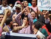 بالصور.. صحفيون ينظمون مسيرة لدار القضاء العالى قبل تقديم بلاغ ضد وزير الداخلية
