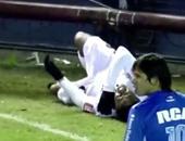 بالفيديو.. روبينيو يتعرض للاعتداء فى الأرجنتين