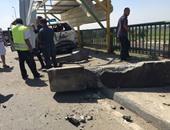 بيان للداخلية: تلفيات بسيارة شرطة جراء انفجار عبوة بدائية بمحور 26 يوليو