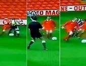 بالفيديو.. روني يسجل هدف مارادونى فى عمر 10 سنوات