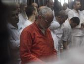 """اليوم.. استئناف محاكمة """"بديع"""" و104 أخرين بأحداث عنف الإسماعيلية"""