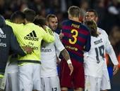 بيكيه يُهنئ لاعبى ريال مدريد بالفوز على برشلونة!