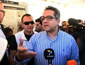 وصول وزير الآثار لافتتاح مسجد الظاهر بيبرس بقليوب