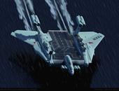 روسيا تنشر صور حاملة طائرات تطير فوق الماء عدة أمتار