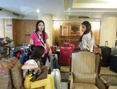 بالصور.. وصول ملكات جمال العالم لمحافظة الأقصر للمشاركة فى مسابقة أممية