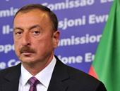 """رئيس أذربيجان يعزى """"السيسى"""" فى ضحايا هجمات كنيستى طنطا والأسكندرية"""