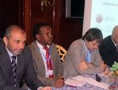 بالصور.. انطلاق فعاليات اليوم الأول للمؤتمر الدولى للمفوضية الإفريقية للزلازل