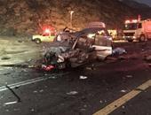 مصرع 8 أشخاص وإصابة 4 آخرين فى حادث مرورى شمال أفغانستان