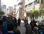 انهيار جزئى من مبنى تابع لجامعة الزقازيق يثير الذعر بين المواطنين