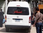 جثمان سيف اليزل يغادر مستشفى السلام الدولى فى طريقه لمسجد المشير