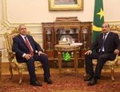 رئيس الأكاديمية العربية يلتقى رئيس جمهورية موريتانيا بقصر القبة