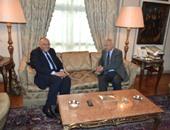 وزير الخارجية يستقبل الأمين العام الجديد لجامعة الدول العربية