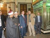 محافظ كفر الشيخ: انتهاء ترميم 62 عمودا بمسجد العارف بالله إبراهيم الدسوقى