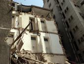 إصابة سيدة فى انهيار سقف حجرة بعقار غرب الإسكندرية