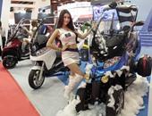 بالصور.. جولة داخل المعرض الدولى للدراجات النارية فى تايوان