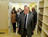 وزير الثقافة يتفقد مخازن الوثائق المطورة بدار الكتب والوثائق القومية
