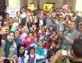 بالصور.. كلية آداب جامعة المنصورة تحتفل بيوم اليتيم