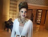 بوسى شلبى تقدم حفل الدورة الثامنة لمهرجان الفضائيات العربية