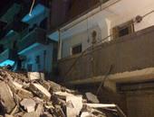 انهيار جزئى بأحد المنازل بقرية شيبة بالشرقية وإخلاء العقار المجاور له