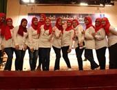 """طالبات بـ""""إعلام القاهرة"""" ينظمن حفل لتكريم الأيتام تحت عنوان """"يوم العطاء"""""""