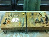 ضبط ورشة لتصنيع وصيانة الأسلحة غير المرخصة بمنزل فلاح بسوهاج