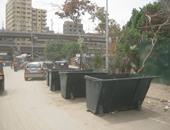 نائب محافظ القاهرة: توزيع صناديق قمامة بشوارع حى الوايلى