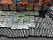 ضبط بائع قبل ترويجه 2000 صاروخ ألعاب نارية فى الجمالية