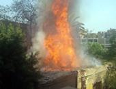 حريق محدود بمحول كهرباء بسبب ماس كهربائى فى الأقصر