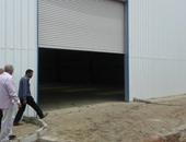 القوات المسلحة تنشئ شونة لتخزين القمح فى مركز الزرقا بدمياط
