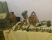 ضبط صاحب محل أدوات صيد لإدارته ورشة لتصنيع الأسلحة النارية داخل منزله بالبحيرة